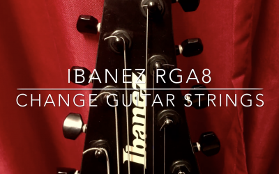Change guitar 8 strings